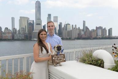 New york engagement photo