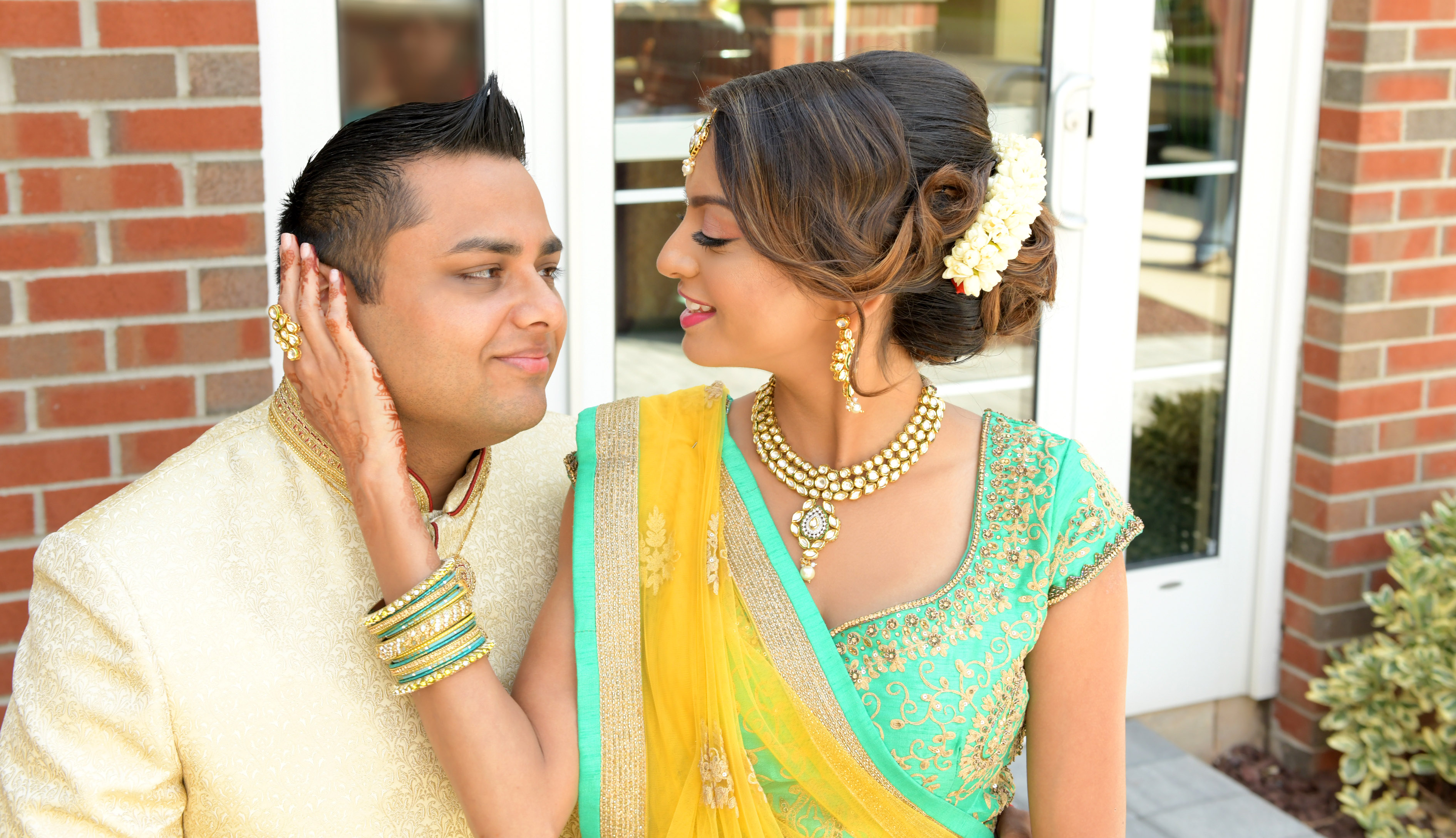 Indian Wedding Photography - Bride and Groom in NJ